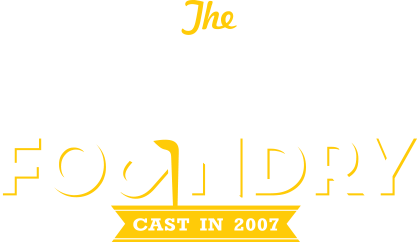 The Dream Foundry, Inc Logo, White